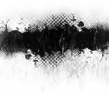 Splatter da pintura de Grunge Imagens de Stock