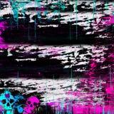 Splatter da pintura de Grunge ilustração royalty free