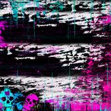 Splatter della vernice di Grunge Immagini Stock