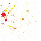 Splatter design background vector Stock Photography