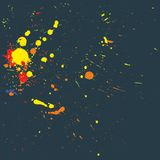 Splatter design background vector Royalty Free Stock Photography