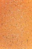 Splatter di colore su una parete grungy della roccia Immagine Stock Libera da Diritti