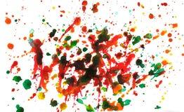 Splatter multicolore Fotografie Stock Libere da Diritti