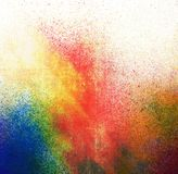 Splatter paint background. Grunge splatter paint colorful background royalty free stock image