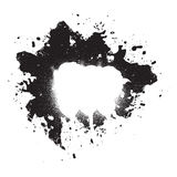 Splatter Paint Grunge Element stock illustration