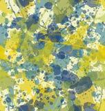 Splatter Seamless Pattern. Water color splatters seamless pattern royalty free illustration