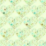 Splatter serc powierzchni bezszwowy wzór Fotografia Stock