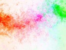 Splatter tęczy abstrakt Zdjęcie Royalty Free