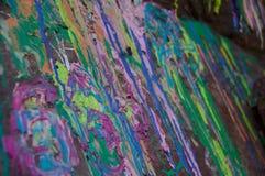 Splattered краска Стоковая Фотография