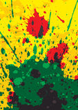 Splattered background Stock Images