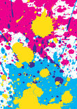 Splattered background Stock Photography