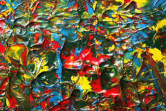 splattered bakgrundsmålarfärg Fotografering för Bildbyråer