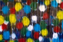 splattered bakgrundsmålarfärg Royaltyfria Bilder