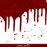 Splattered blood stains Stock Image