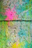 splattered målarfärg royaltyfri bild