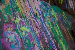 Paint Drips and Splatters Stock Photography