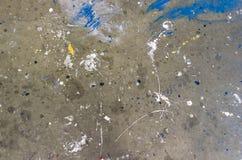 Splattered podłoga Fotografia Stock