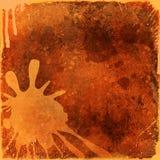 splatters холстины предпосылки Стоковая Фотография RF