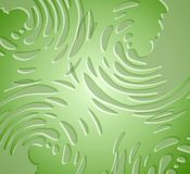 Splatters Liquid Texture Green Stock Images