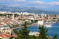 Spleet, Kroatië Stock Afbeeldingen