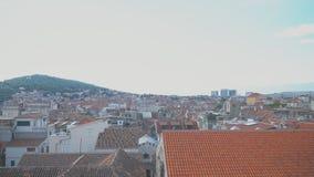 Spleet, Kroatië stock footage