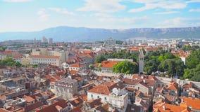 Spleet, Kroatië stock videobeelden