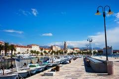 Spleet in Kroatië stock afbeelding