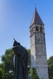 Spleet, Kroatië - 21 Juli 2017, Standbeeld Gregory van Nin Royalty-vrije Stock Foto