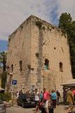 Spleet - paleis van Keizer Diocletian Stock Foto's