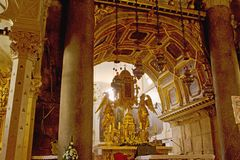 Spleet - paleis van Keizer Diocletian royalty-vrije stock foto's