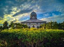 Splendendo a Masjid fotografia stock libera da diritti