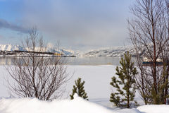 Splendeur norvégienne image stock