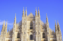 Splendid baslique of Milan Royalty Free Stock Photography