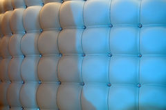 Splendid beige leather upholstery Royalty Free Stock Image