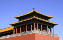 Splendid building of forbidden city Royalty Free Stock Photography