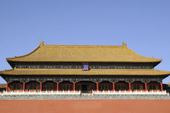 Splendid building of forbidden city Stock Photo