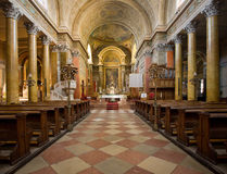 Splendid church interior Stock Photography