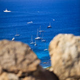 Splendid corsica coastal waters Royalty Free Stock Images