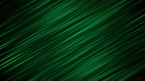 Soft Background From Slanting Green Rays. A splendid 3d rendering of inclined green rays shining in the black background in a defocused way. The optimistic Royalty Free Stock Image