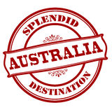 Splendid destination Australia Royalty Free Stock Photos