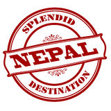 Splendid destination Nepal Royalty Free Stock Image