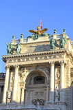 Splendid house facade of the austrian national library. In Vienna Royalty Free Stock Images