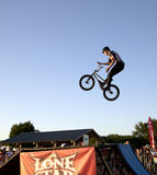 Splendid Lone Star  BMX bicycle competition Texas Royalty Free Stock Photography