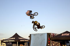Splendid Lone Star  BMX bicycle competition Royalty Free Stock Photos