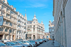 The splendid mansions of Zurich Royalty Free Stock Photography