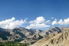 Splendid mountains of Leh, Ladakah Royalty Free Stock Image