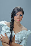 Splendid plait Royalty Free Stock Images