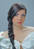 Splendid plait Stock Photo