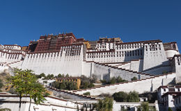 Splendid Potala Palace Royalty Free Stock Images