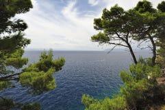 Splendid seacoast of Croatia Royalty Free Stock Photography